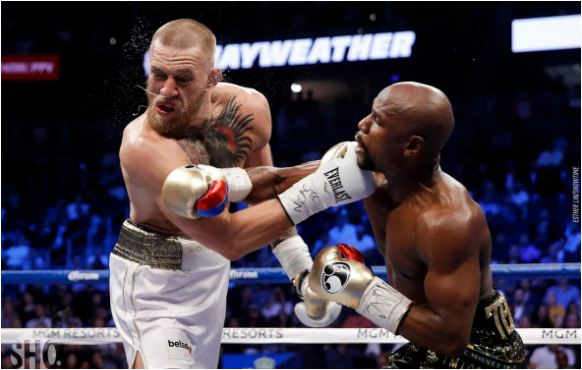 Mayweather vs. McGregor fight results