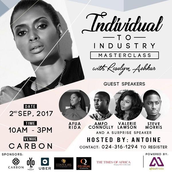 Roselyn Ashkar to organize 1-day workshop for Models in Accra on September 2