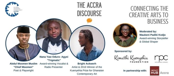 Trigmatic, Chief Moomen and Bright Ackwerh to Speak at 'The Accra Discourse'
