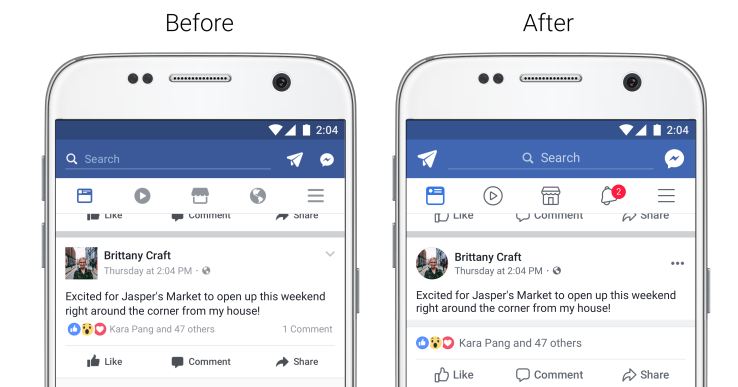 Facebook and Instagram get redesigns for readability