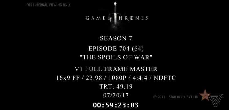 Latest Game of Thrones episode leaks online before TV broadcast