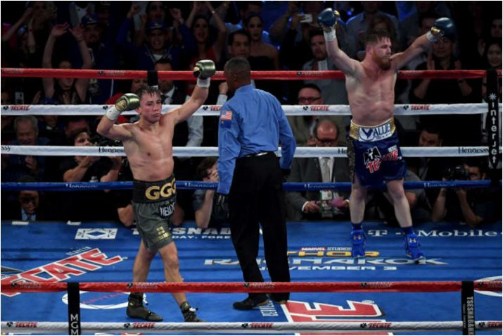 Canelo-GGG Ends In Shocking Draw Following 12 Round Slugfest