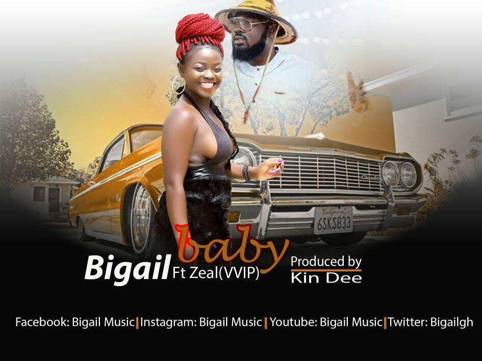 Bigail set to take over GH Music scene with 'Baby' featuring VVIP's Zeal