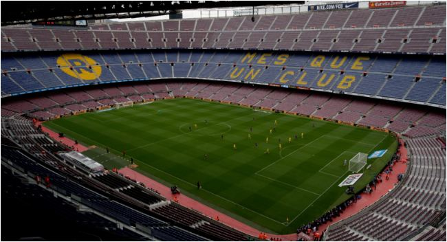 Barcelona's Camp Nou Could Get A New Name In 2018