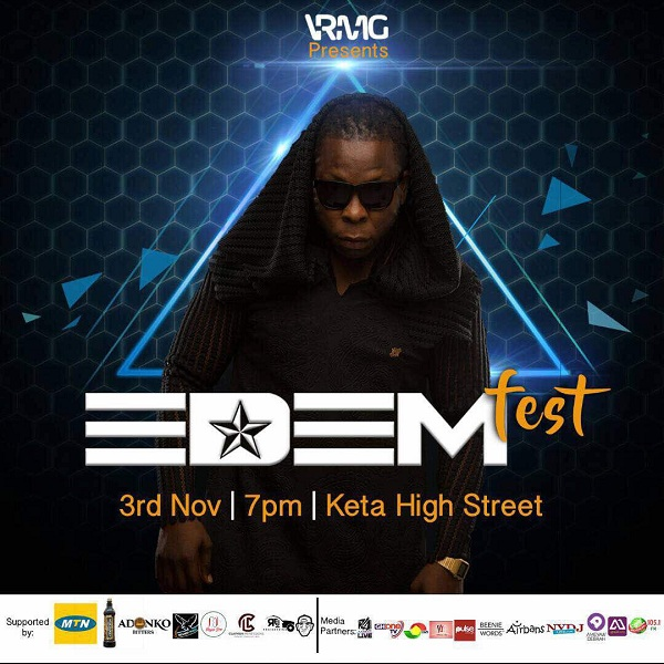 Over 20 Artistes listed for the maiden edition of Edemfest in Keta