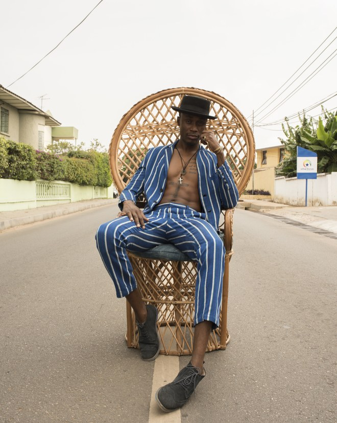 How One Afrobeats Superstar Is Reinventing Ghana's Most Prized Fashion Treasure