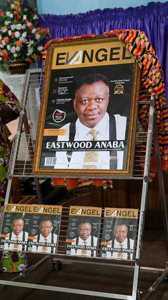 Rev Eastwood Anaba Covers the Gamma Edition of Evangel Magazine