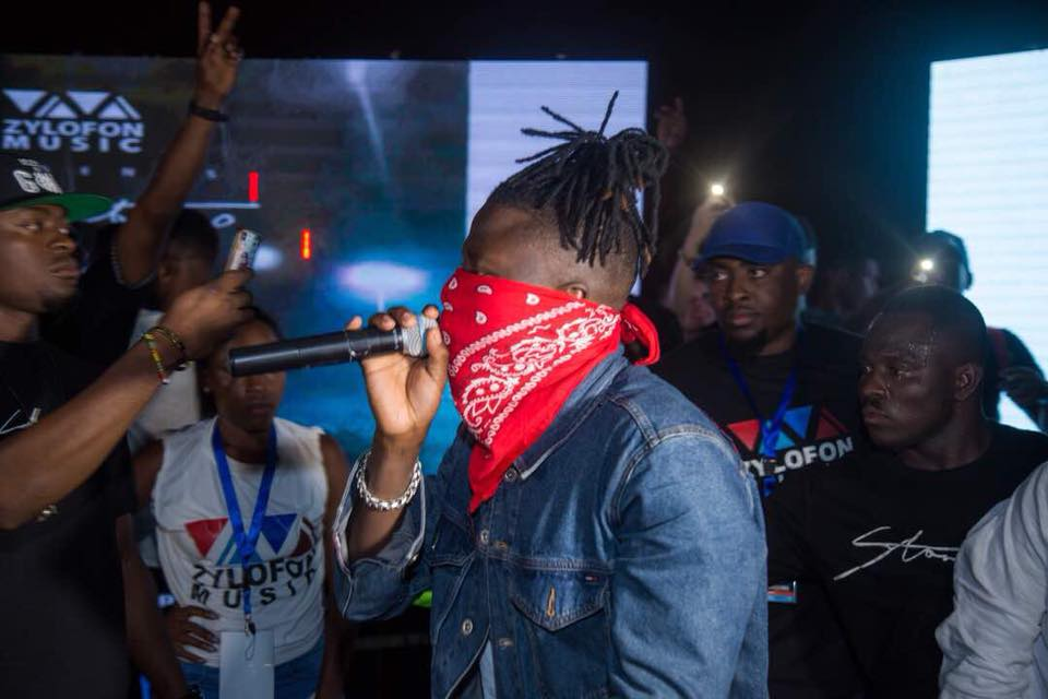 Stonebwoy Reacts to Reports Indicating The Knife Incident at his Concert was for Hype
