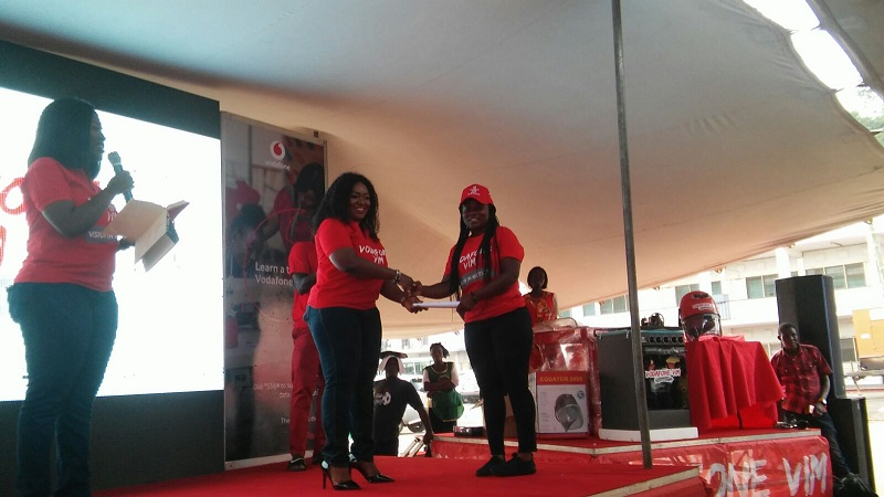 Over 100 benefit from Vodafone's life skills training