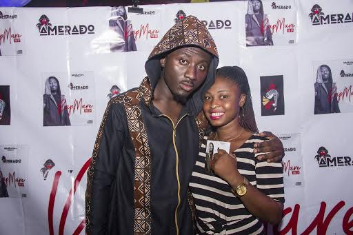 Hundreds Of fans attends Amerado's Rapmare EP Launch