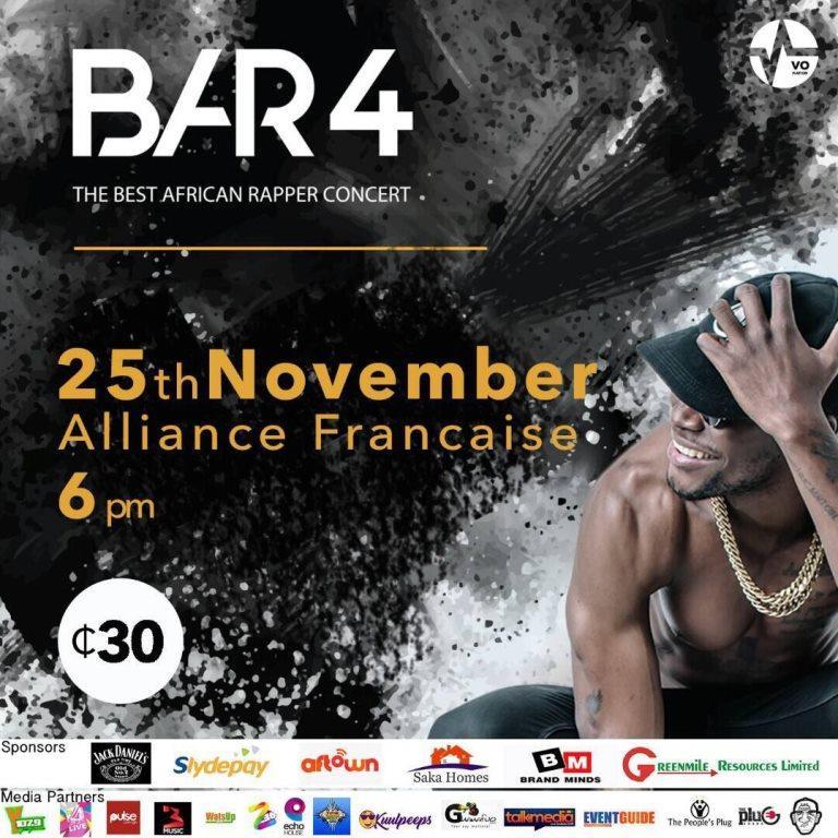 E.L to launch BAR 4 mixtape at the annual BAR concert