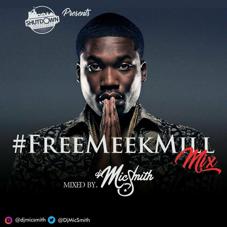 Stream: DJ Mic Smith premieres Free Meek Mill Mix