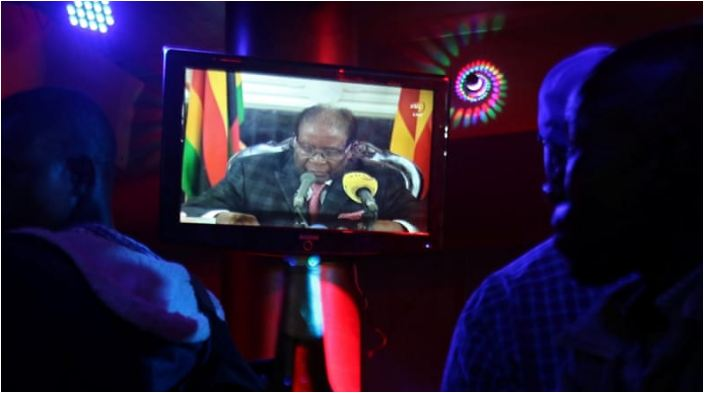 No resignation as Robert Mugabe addresses nation