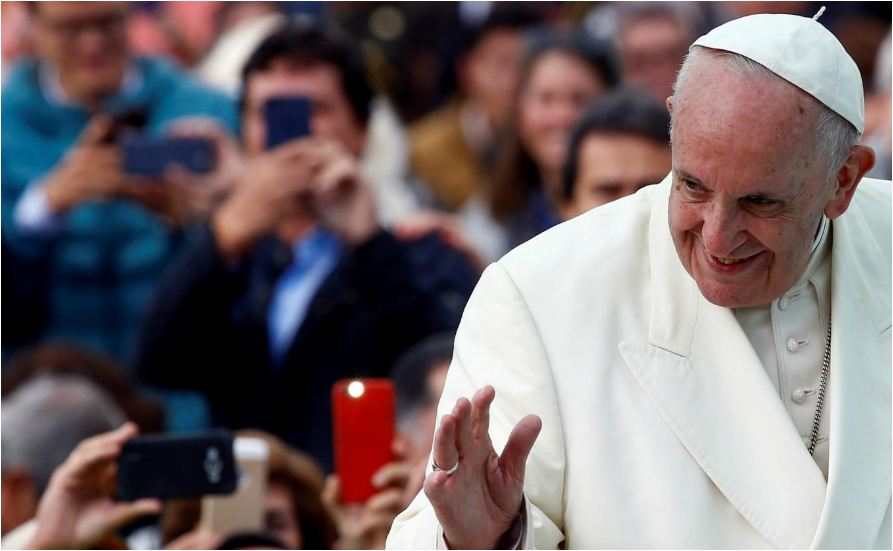 The Pope requests priests to be given right to marry