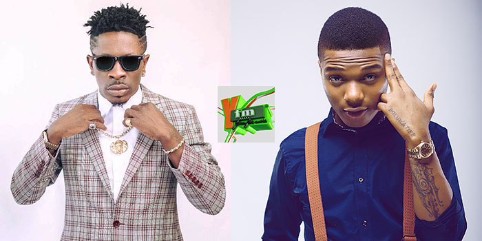 How Samini, Dammy Krane, Guru, D Cryme Reacted to the Shatta Wale Vs Wizkid 'Fight'