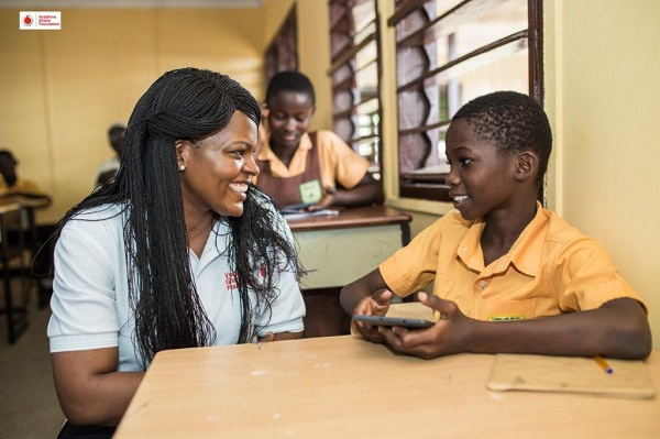 "Vodafone ""Instant Schools"" reach 1.8million hits"