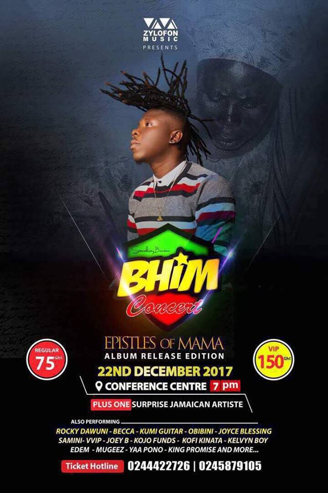 "Tickets Out For The ""Bhim Concert EOM Album Release Edition"" 