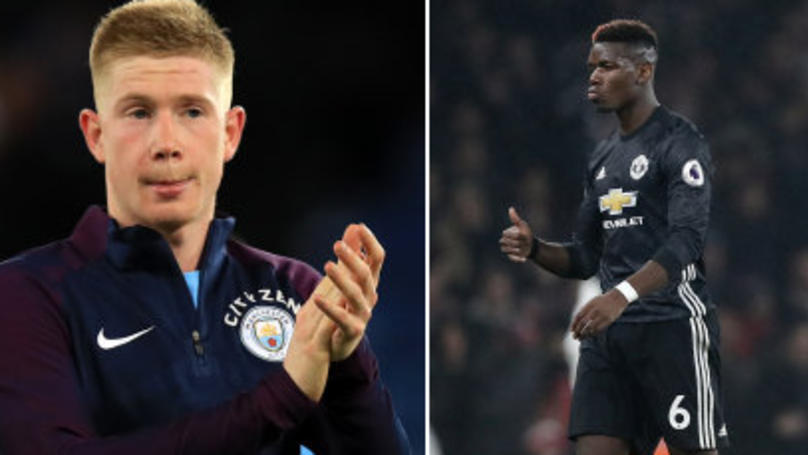 Kevin De Bruyne Brilliantly Responds To Paul Pogba Hoping City Players Get Injured