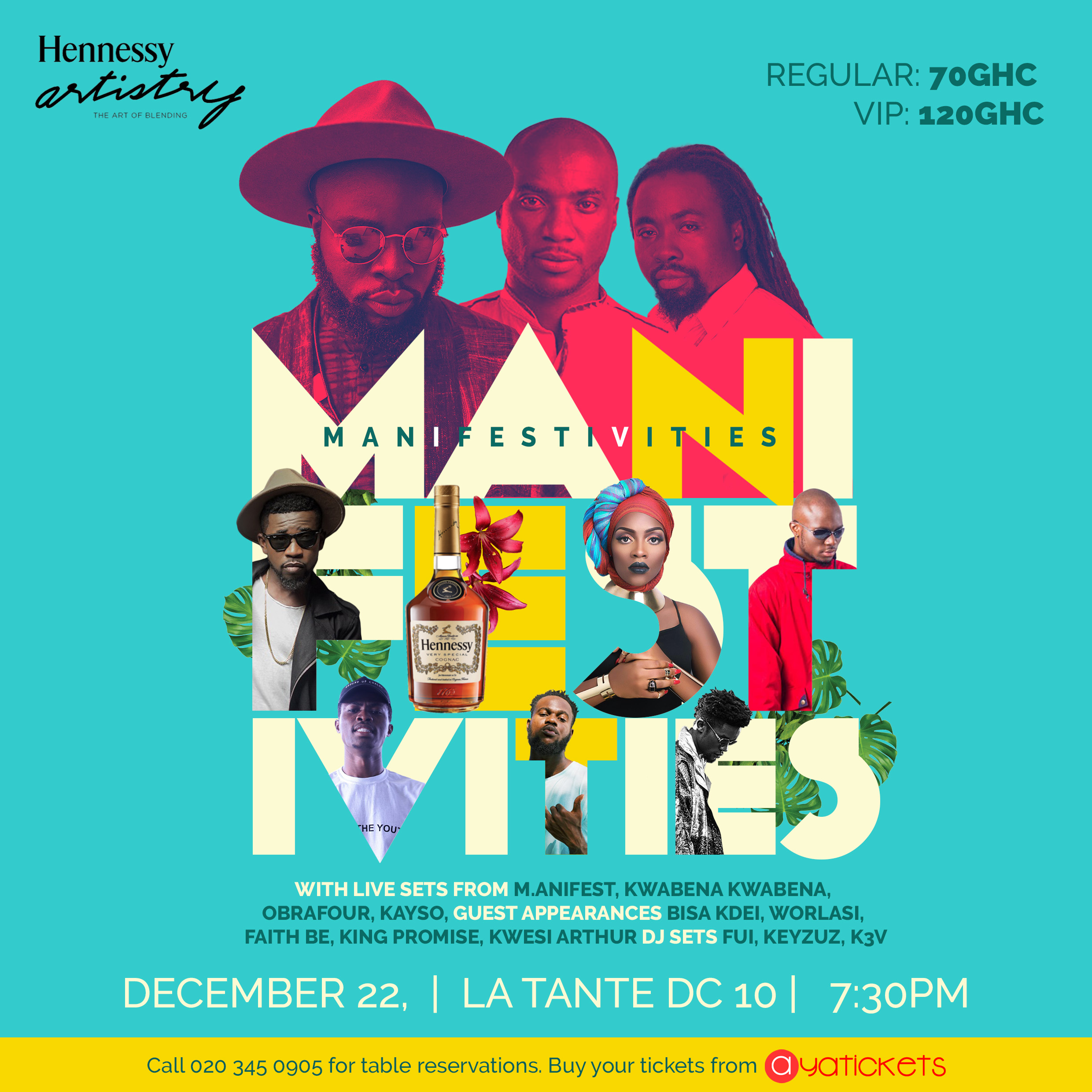 Hennessy Artistry Presents Fifth Edition of Manifestivities