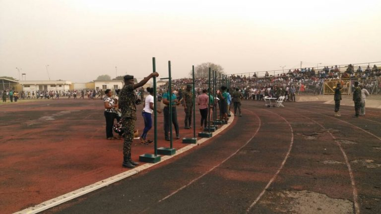 Over 15,000 undergo Ghana Immigration Service recruitment exercise at El Wak Stadium