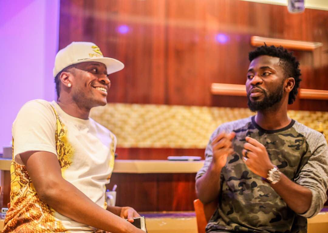 "Bisa Kdei features Asamoah Gyan on ""Hammer"""