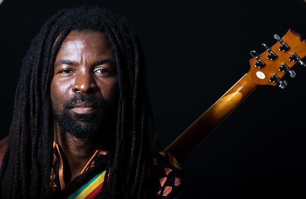 Rocky Dawuni performs at the 8th Gathering of Healing Our Spirit Worldwide in Sydney