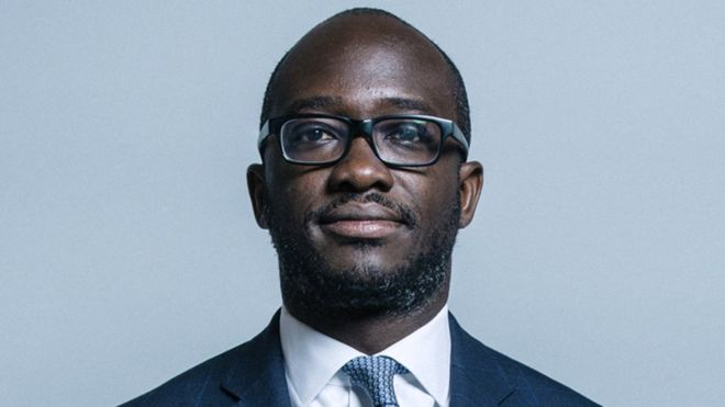 UK-born Ghanaian, Sam Gyimah is UK's Universities & Science Minister