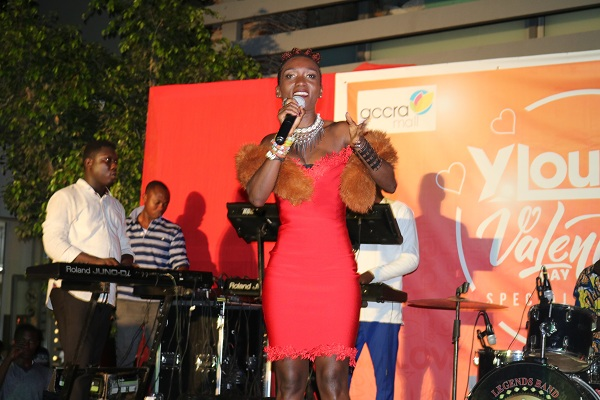 Accra Mall Thrills Patrons with YLounge's Special #ValsDay Broadcast