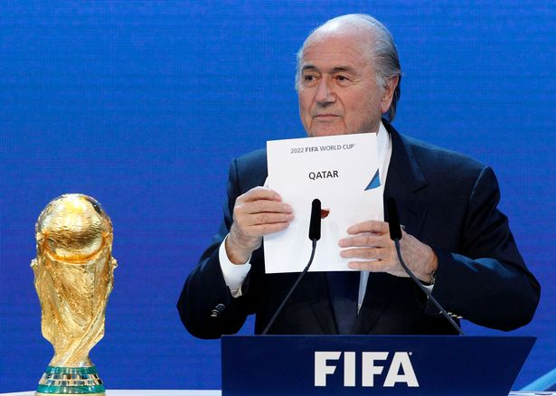 England emerge as shock contenders to host 2022 World Cup as FIFA 'consider stripping Qatar'