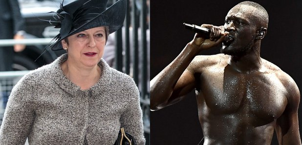 Prime Minister Theresa May Responds To Stormzy's BRIT Awards Diss About Grenfell