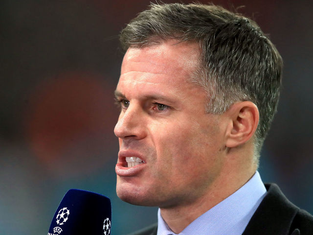 Carragher suspended by Sky after being filmed spitting at family