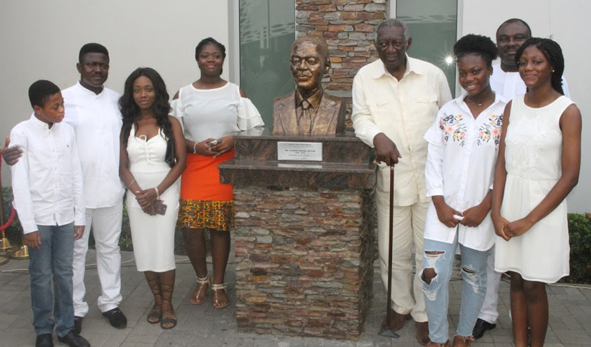 Accra Mall Founder Gets Monument In His Honor