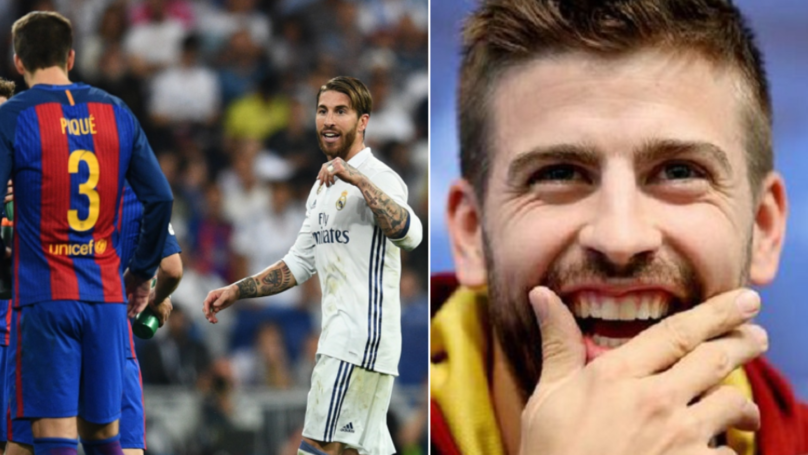 Gerard Pique Reveals What He Says To Real Madrid Players In Secret WhatsApp Group