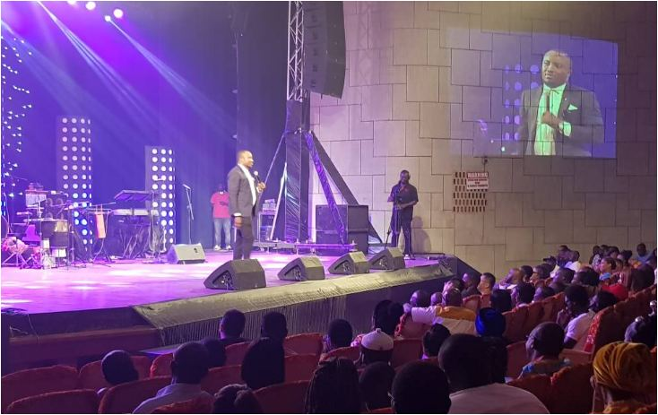 Watch: Samini, King Promise, Larry Soffer, DKB, Jacinta and more thrilled patrons of #MMCLive