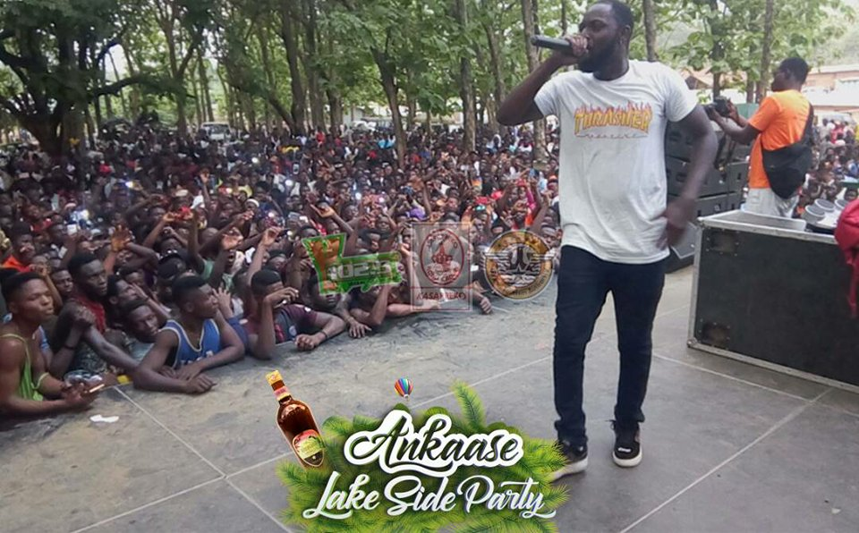 Yaa Pono, Lil Win, Flowking Stone others Thrill Patrons at YFM's Ankaase Lake Side Party