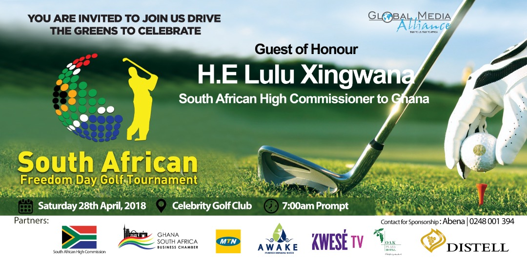 MTN Ghana Partners South Africa Freedom Day Golf