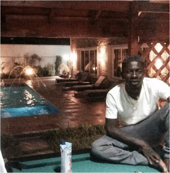 Here's What Shatta Wale Was Doing While #VGMA2018 Was Ongoing at AICC