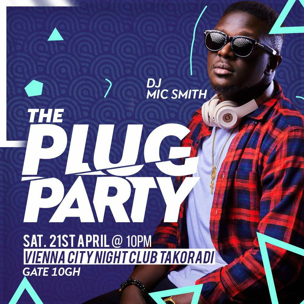 DJ Mic Smith and DJ Loft set for The Plug Party at Vienna City Night Club in Takoradi