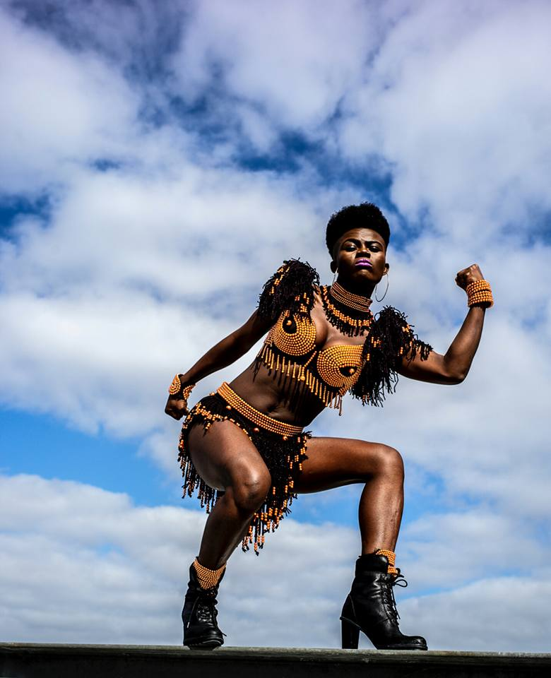 Wiyaala Rocks Commonwealth Games Celebrations with Grrrl