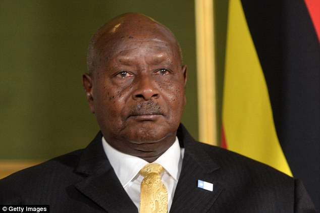 The president of Uganda to ban oral sex because 'the mouth is for eating'