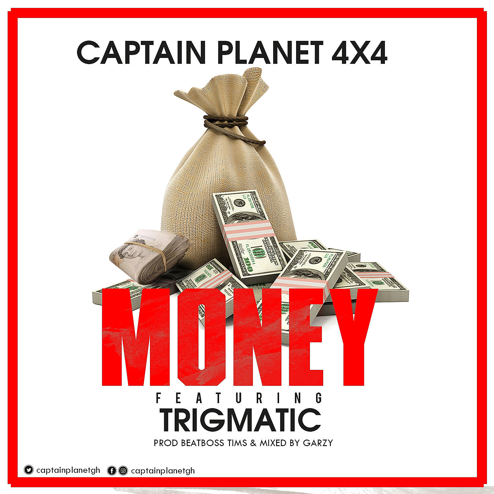 """Captain Planet Recruits Trigmatic On Brand New Single """"Money"""""""