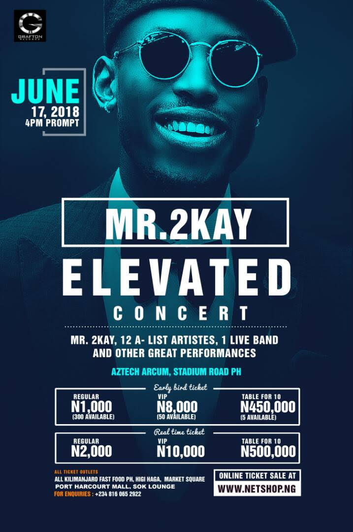 Mr 2Kay Banging Makes The UK Club Urban Top 10 As Elevated Concert Tickets Now Go On Sale