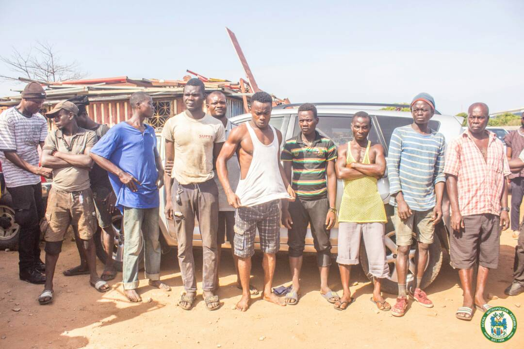 AMA taskforce arrests 15 persons for open defecation