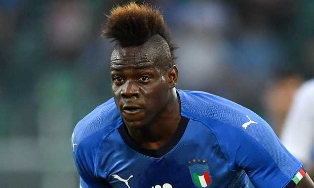 Mario Balotelli hits back at supporters over 'Italian blood' racist banner