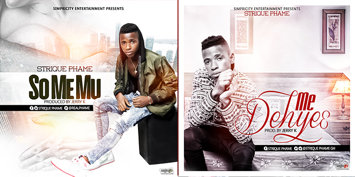 Listen Up: Strique Phame premieres two singles titled 'So Me Mu' and 'Me Dehye3'