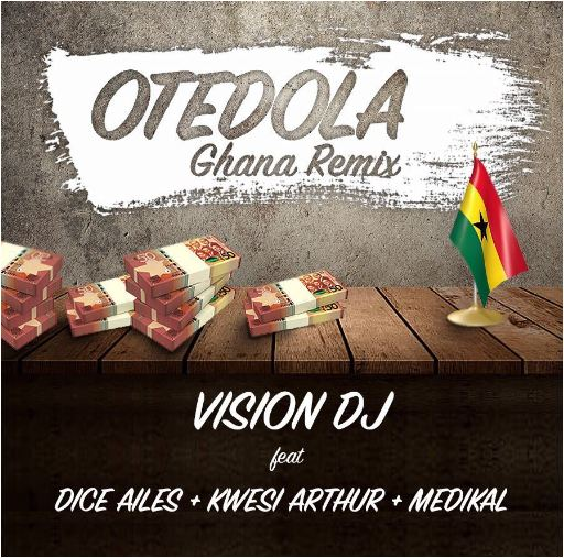 Vision DJ Breaks Into Nigeria's Music Market with Seyi Shay's 'All I Ever Wanted' and Dice Ailes' 'Otedola' Ghana remix