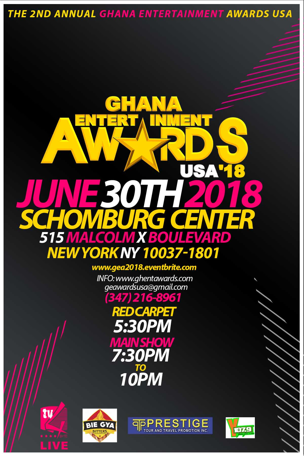 The Ghana Entertainment Awards USA Are Sure To Be Even Bigger & Better Than Last Year With A Show Filled With Star Studded Nominees