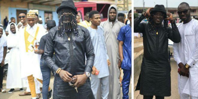 Photos: A Muslim Who Dressed Like Anas To Celebrate Eid Mubarak Hits The Internet