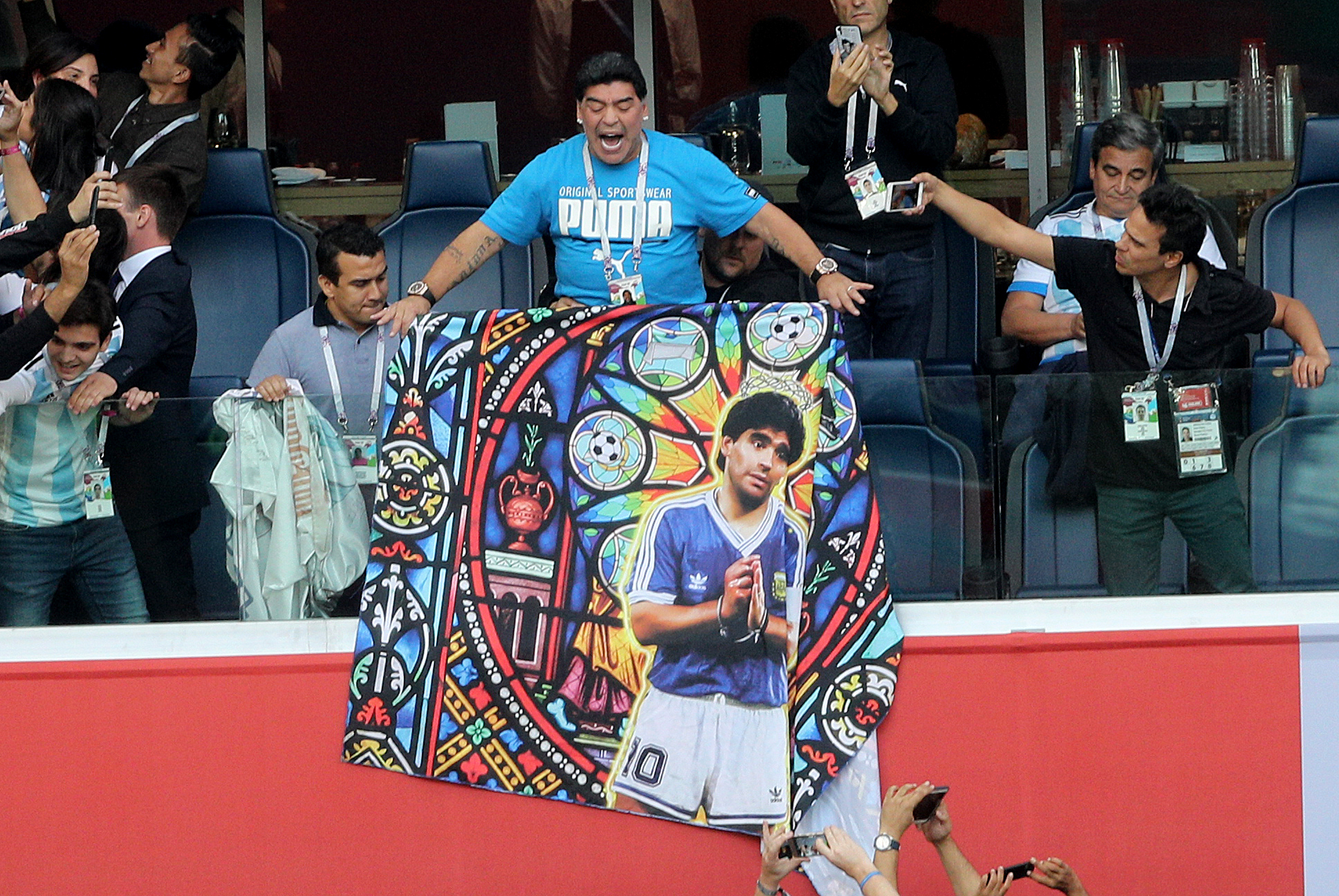 Diego Maradona Updates Fans About Health After World Cup Scare