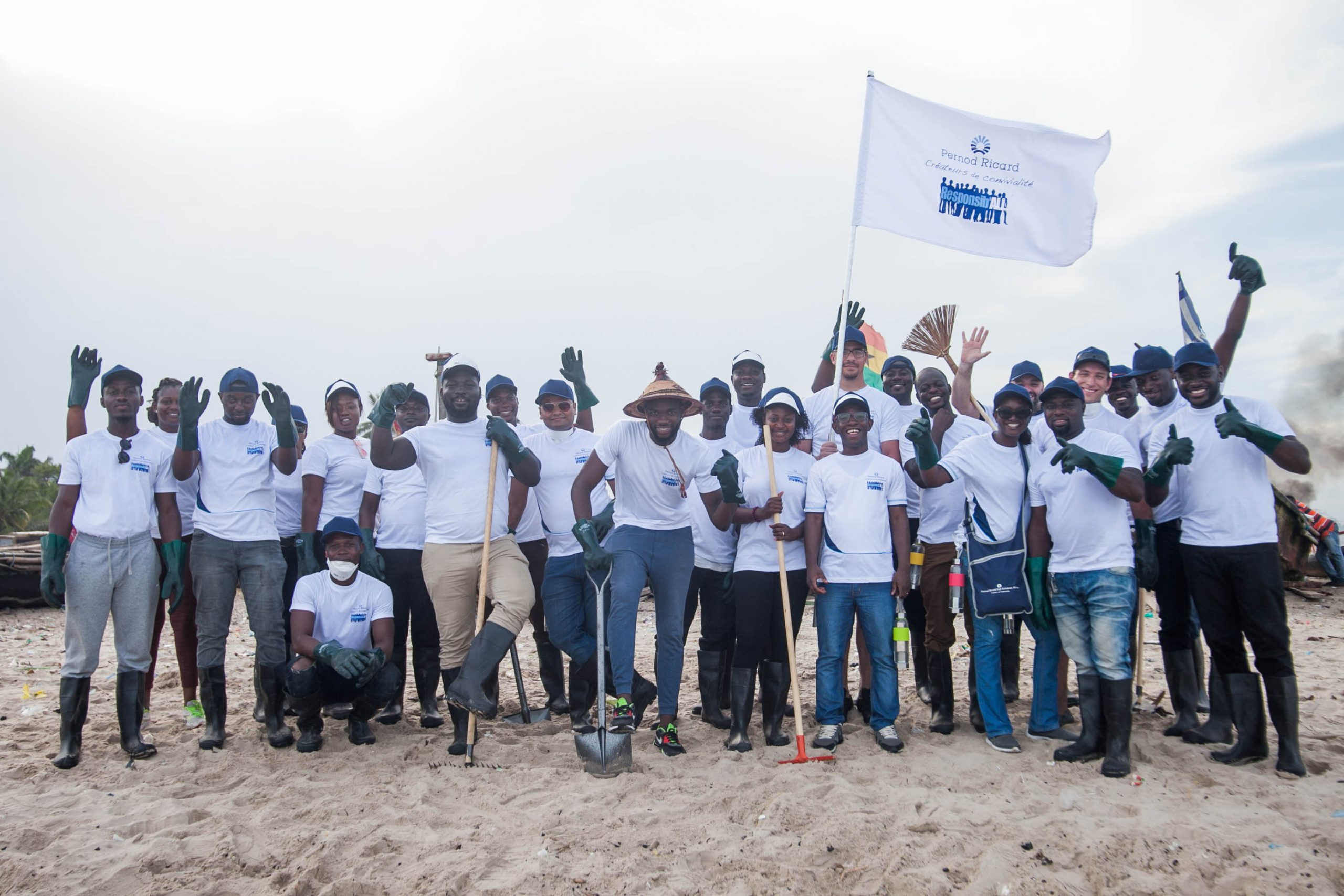 Pernod Ricard Ghana holds 8th edition of Responsib'All Day